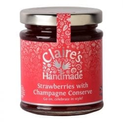 Strawberries with Champagne Conserve