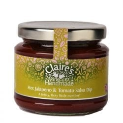Hot Jalapeno and Tomato Salsa Dip