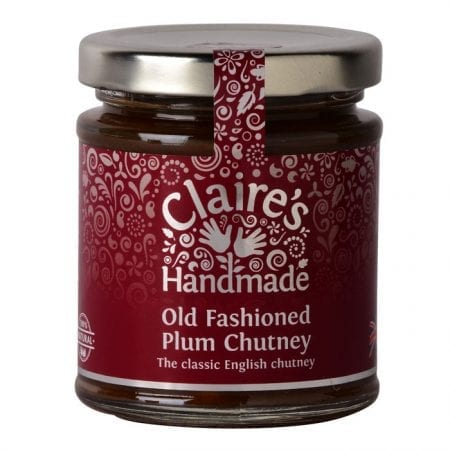 old fashioned plum chutney