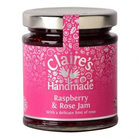 Raspberry and Rose Jam