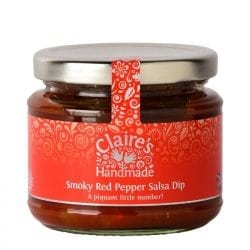 Smoky Red Pepper Salsa Dip