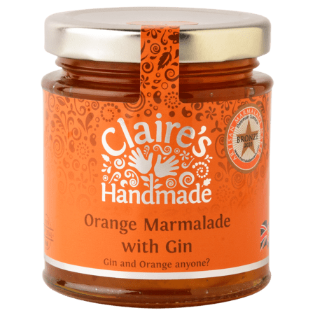 Orange Marmalade with Gin 227g
